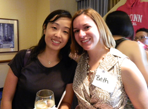 Photo of Suhn Kim and Beth Cipes Chisholm