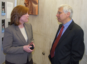 Photo of Dr. Anne Kenny and Jay Magaziner