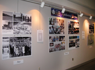 Beau Photo Of 50th Anniversary Wall Display