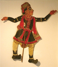 Photo of a puppet by Andhra Pradesh