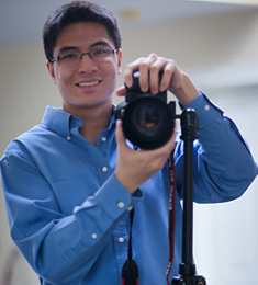 Photo of Pauley Chea, second-year medical student.