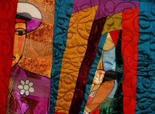 Photo of quilt by Ed Johnetta Miller