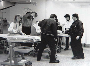 Old emergency room photo