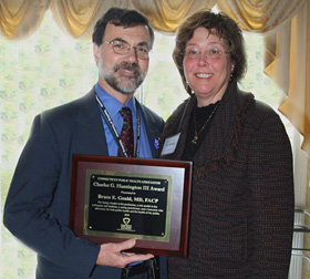 Photo of Dr. Bruce Gould and Susan Huntington