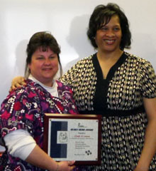 Photo of Cindy Letavec and Margo Griffin