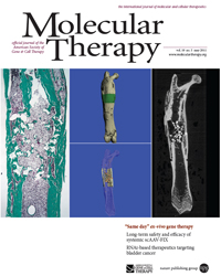 Molecular Therapy journal cover
