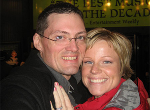 Photo of Jason Whiting and Rebecca Green