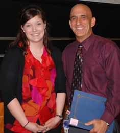 Photo of Dr. Robert Bona and Melissa Papio