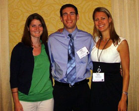 Photo of Kerrie O'Brien, Daniel Morris, and Brittany Sonnichsen