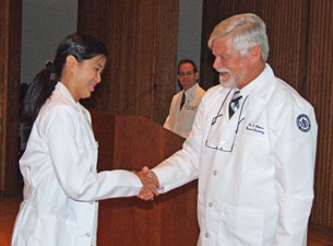 First-Year Dental and Medical School Students Celebrate White Coat