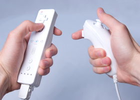 Photo of Wii remote and Nunchuk
