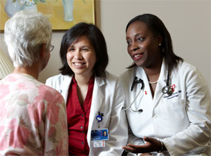 Photo of Drs. Meng and Ferris